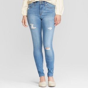NWT Universal Thread High-Rise Skinny Jeans size 2